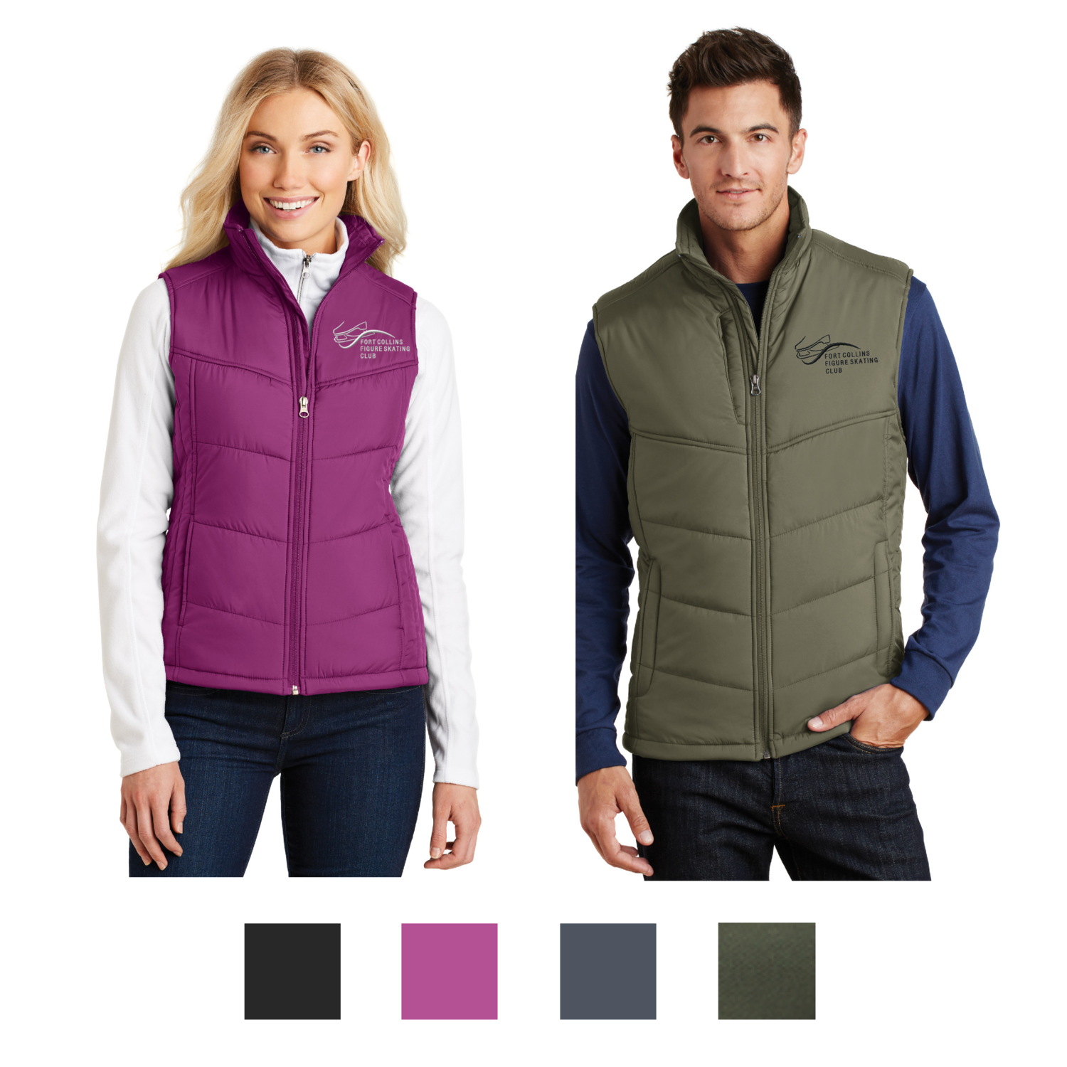 Embroidered Port Authority® Puffy Vest - FCFSC