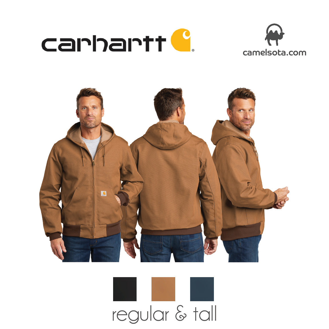 Custom Carhartt Thermal Lined Duck Active Jacket