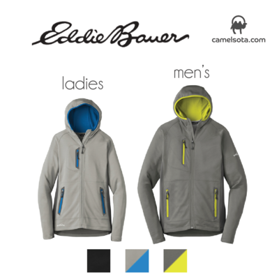 Custom Eddie Bauer Sport Hooded Full-Zip Fleece Jacket