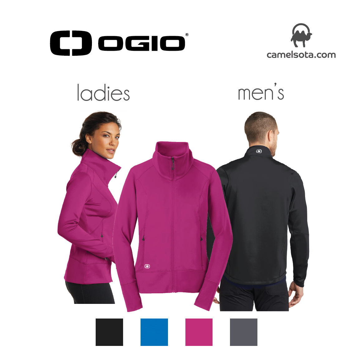 Custom OGIO ENDURANCE Fulcrum Full-Zip Jacket
