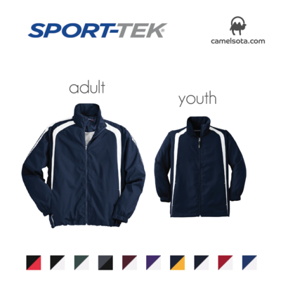 Custom Sport-Tek Colorblock Raglan Jacket