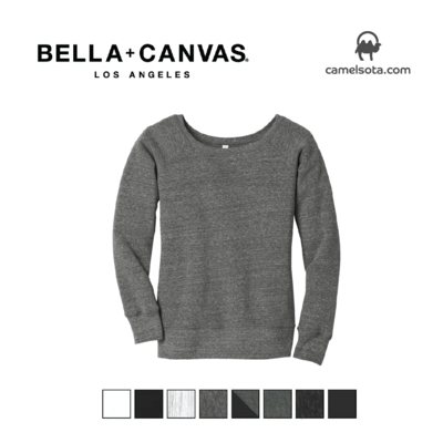 Custom Women's Wide-Neck Sweatshirt