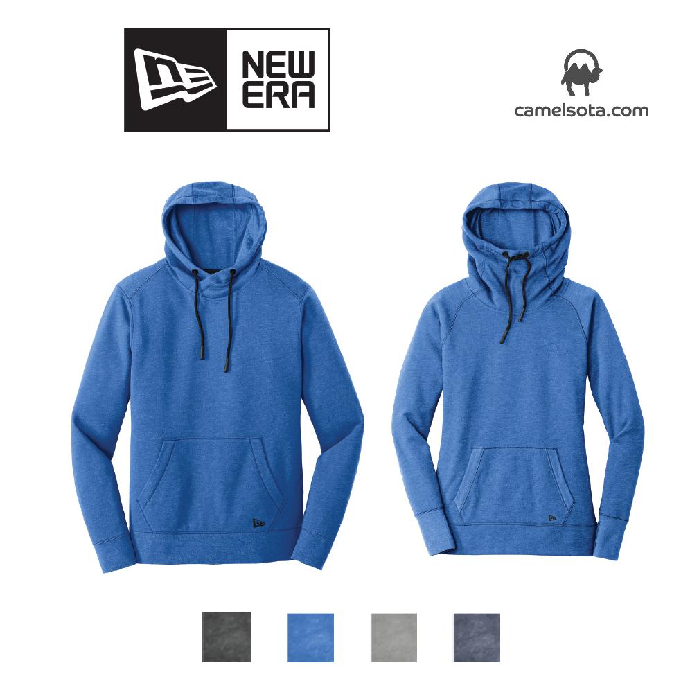 Custom New Era Tri-Blend Pullover Hoodie