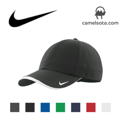 Custom Embroidered Nike Dri-FIT Swoosh Perforated Cap