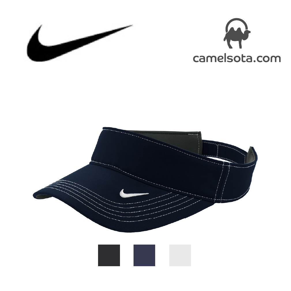 Custom Embroidered Nike Dri-FIT Swoosh Visor