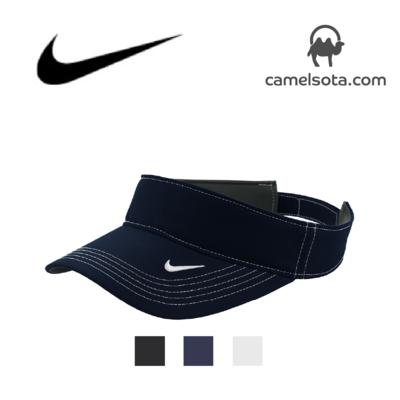 Custom Embroidered Nike Dri-FIT Swoosh Visor