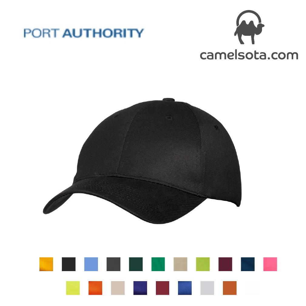 Custom Embroidered Port & Company - Six-Panel Twill Cap