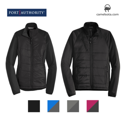 Custom Embroidered Port Authority Hybrid Soft Shell Jacket