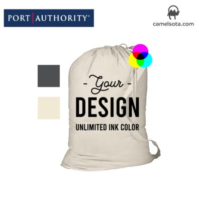 Custom Printed Port Authority - Laundry Bag 33.5