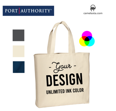 Custom Printed Port Authority Convention Tote Bag