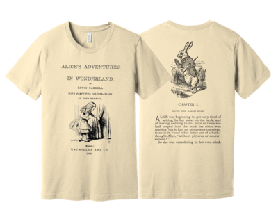 Alice in Wonderland by Lewis Carroll Shirt