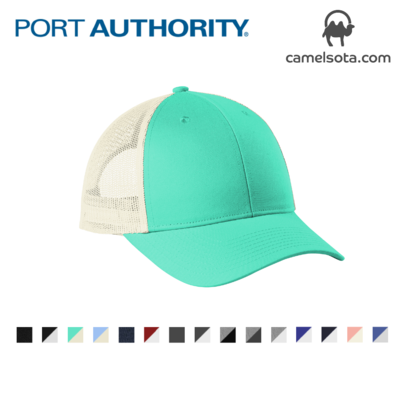 Custom Embroidered Port Authority Low-Profile Snapback Trucker Cap