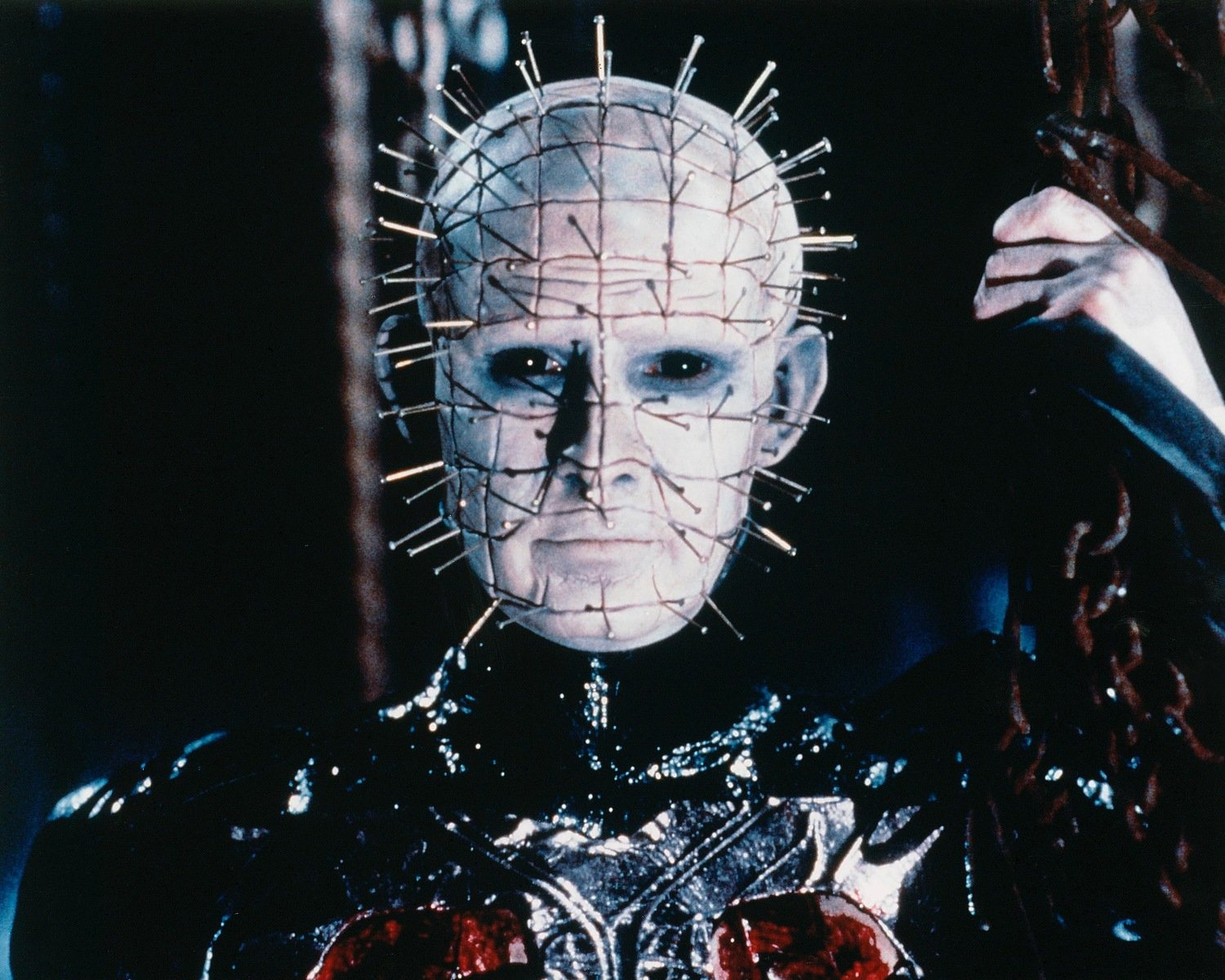 Pinhead with chains. 8