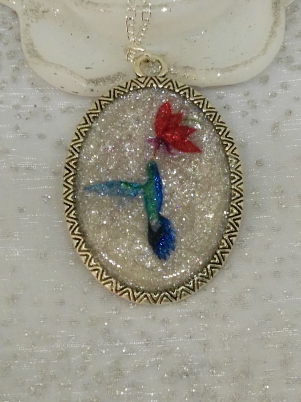 pendentif colibri 2