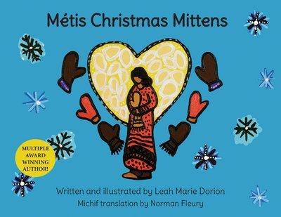Métis Christmas Mittens