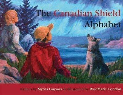 Canadian Shield Alphabet Map