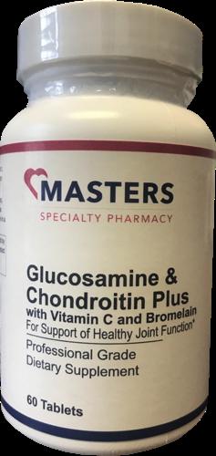 Glucosamine & Chondroitin Plus With Vitamin C and Bromelain