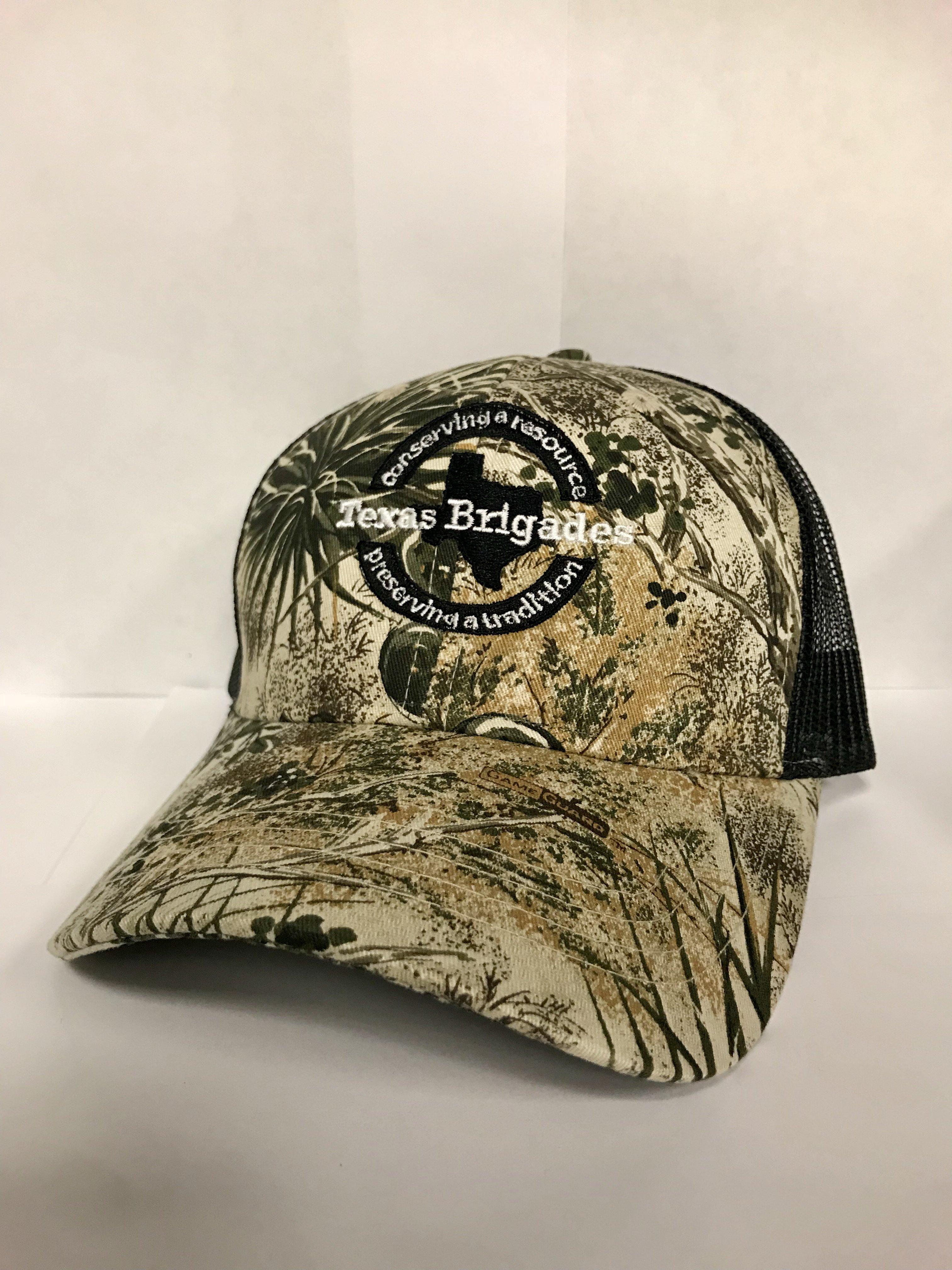 Texas Brigades Game Guard Camo Hat 00003