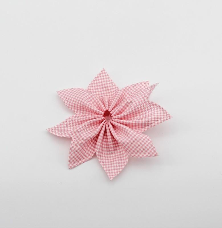 Nastro portaconfetti stella rosa Mt. 30