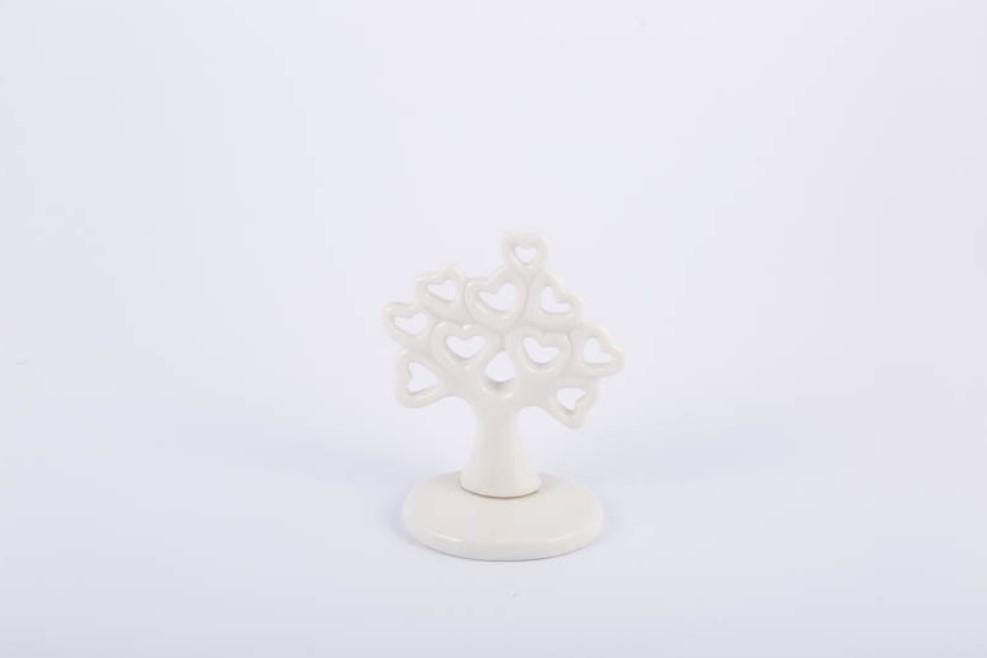 Bomboniera in porcellana albero Pz. 6