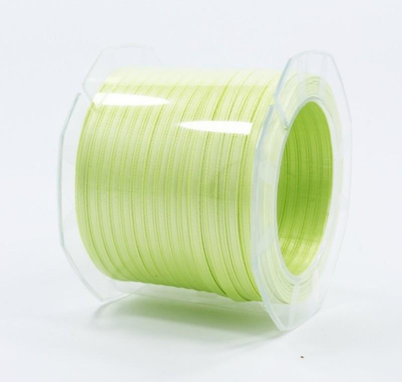 Furlanis nastro di raso verde chiaro colore 119 mm.3  Mt.100