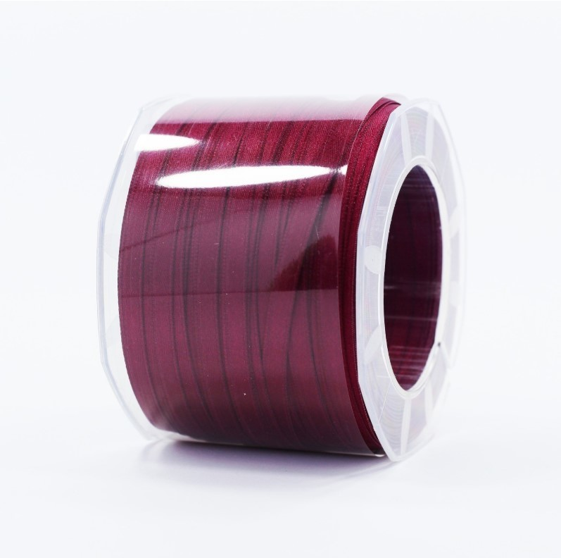 Furlanis nastro di raso prugna colore 38 mm.6 Mt.100