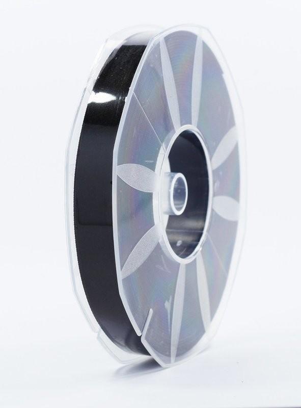 Furlanis nastro di raso nero colore 33 mm.16 Mt.50