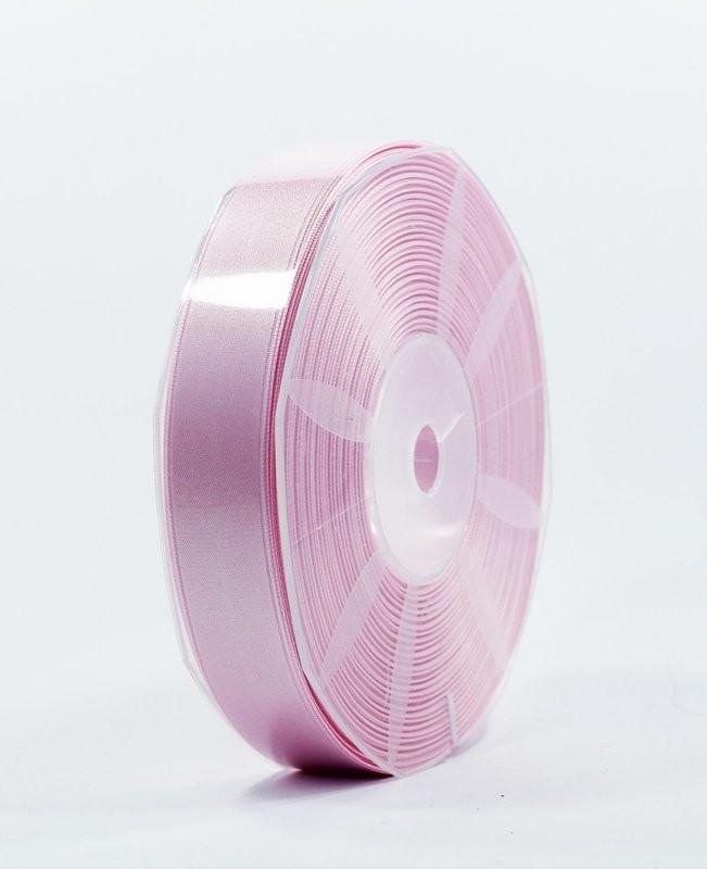 Furlanis nastro di raso rosa chiaro colore 20 mm.25 Mt.50