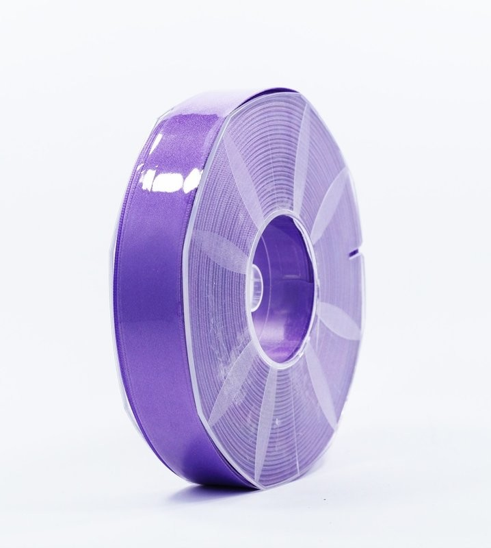 Furlanis nastro di raso viola colore 76 mm.25 Mt.50