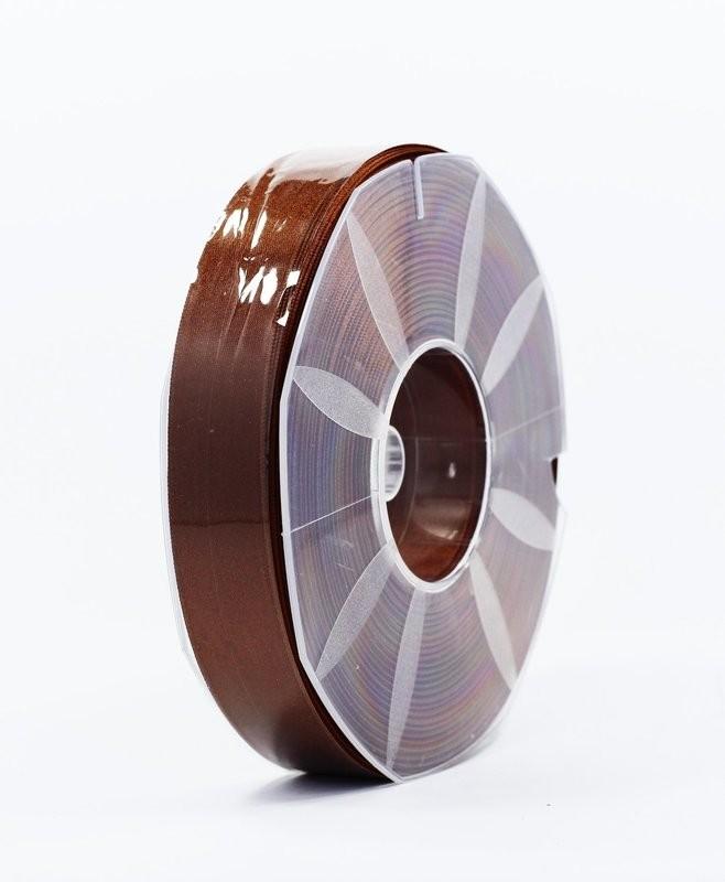 Furlanis nastro di raso marrone colore 44 mm.25 Mt.50