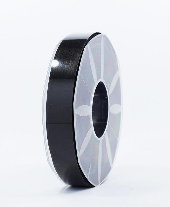 Furlanis nastro di raso nero colore 33 mm.25 Mt.50