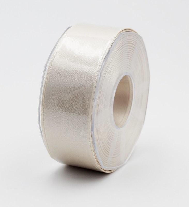 Furlanis nastro di raso avorio colore 35 mm.40 Mt.25