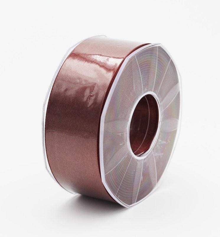 Furlanis nastro di raso marrone medio colore 1239 mm.40 Mt.25