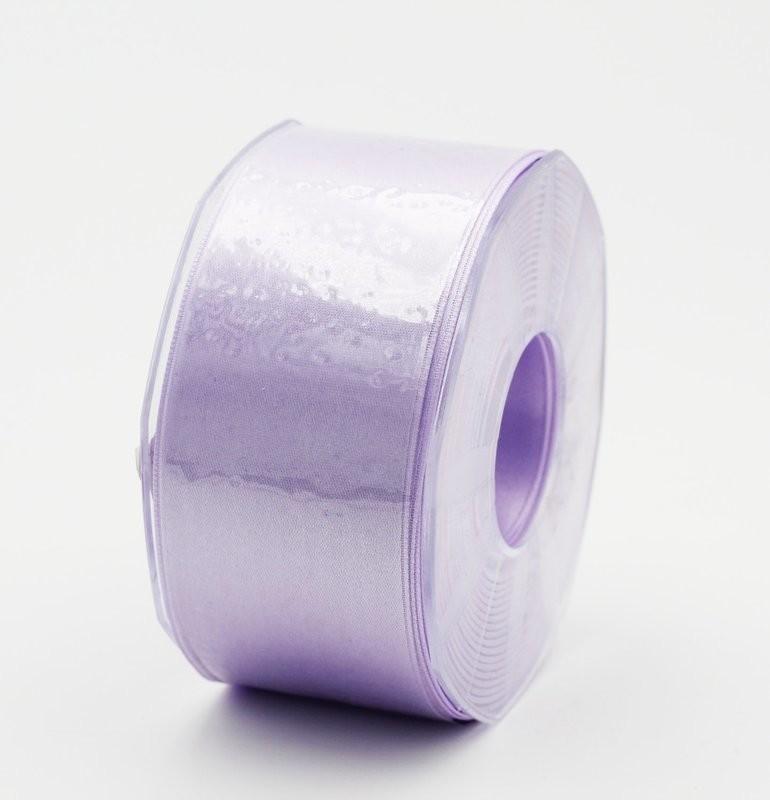 Furlanis nastro di raso glicine colore 67 mm. 48 Mt. 25