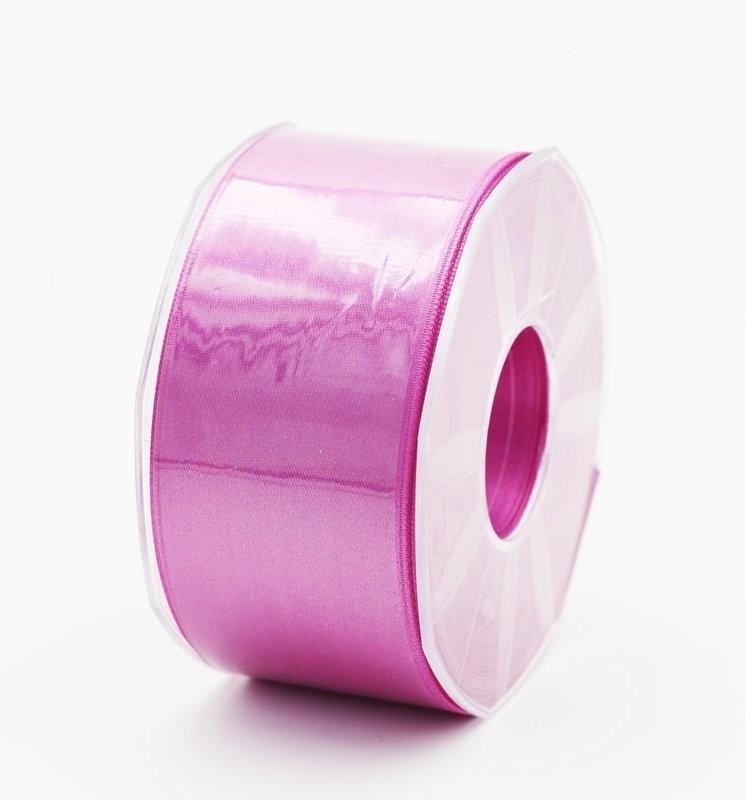 Furlanis nastro di raso lilla colore 60 mm. 48 Mt. 25