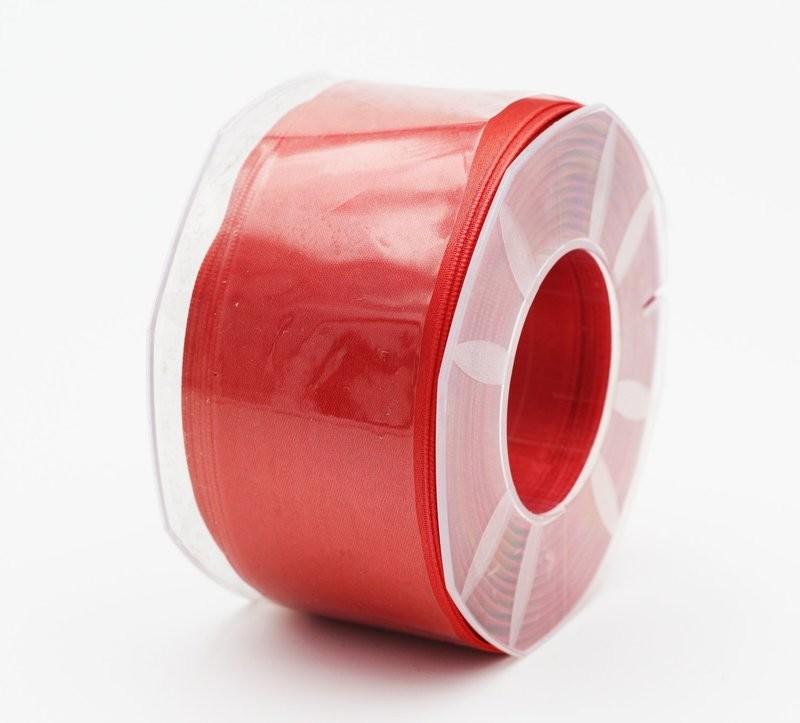 Furlanis nastro di raso rosa corallo scuro colore 481 mm. 48 Mt. 25