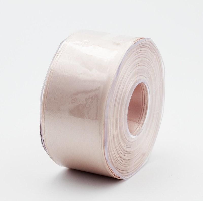Furlanis nastro di raso cipria chiaro colore 52 mm. 48 Mt. 25