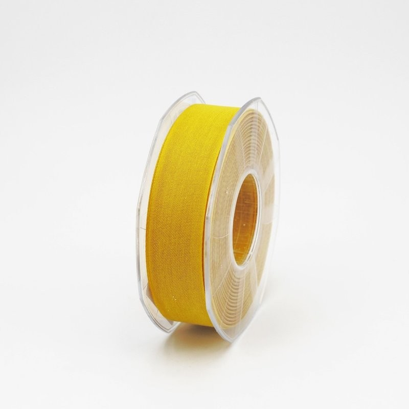 Furlanis nastro garza tipo cotone giallo colore 430 mm.25 Mt. 25