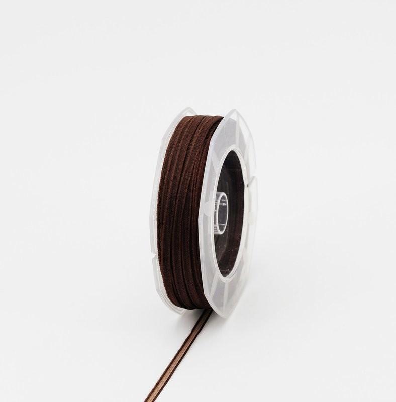 Furlanis nastro organza marrone colore 44 mm.3 Mt. 50