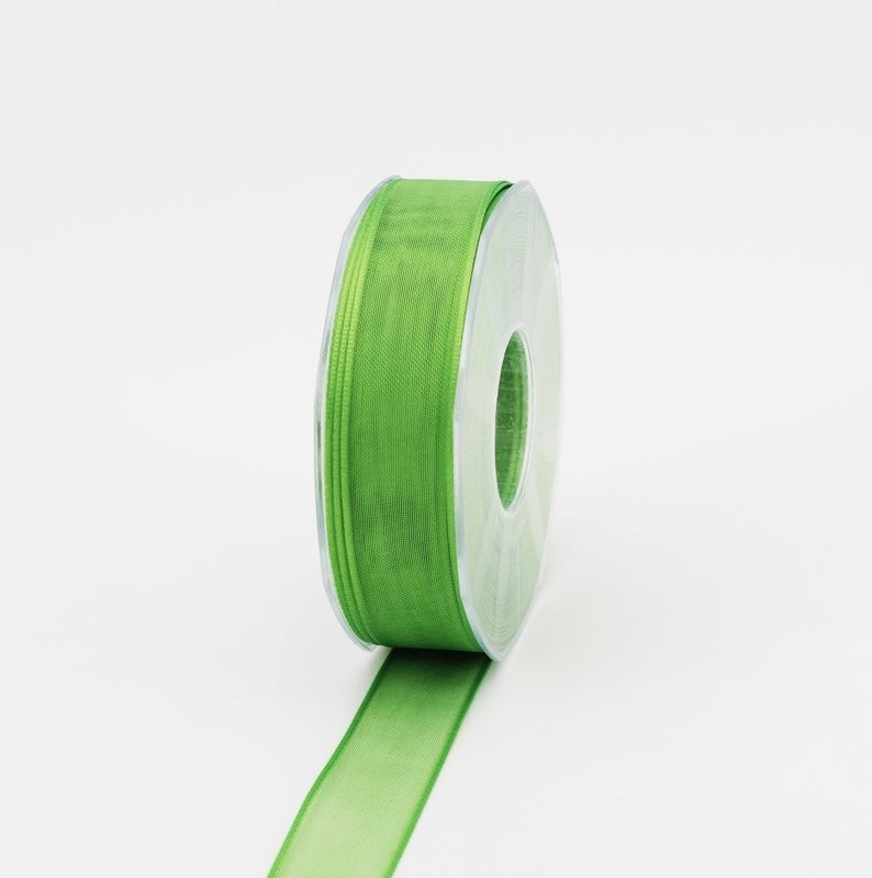 Furlanis nastro organza verde colore 548 mm.25 Mt.50