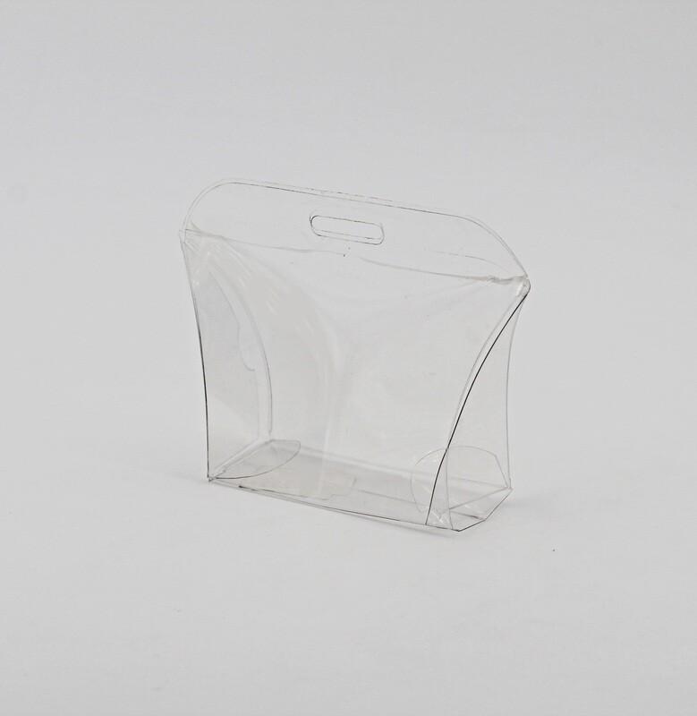 Scatolo trasparente borsetta Pz. 10
