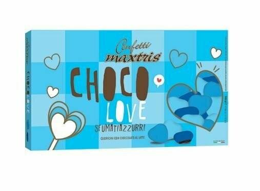 Maxtris Choco love sfumati azzurri