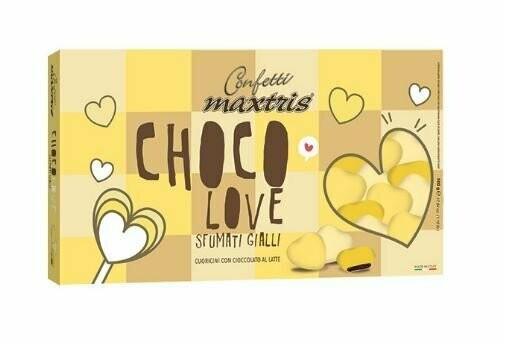 Maxtris Choco love sfumati gialli