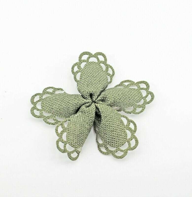 Nastro portaconfetti frou frou verde Mt. 15