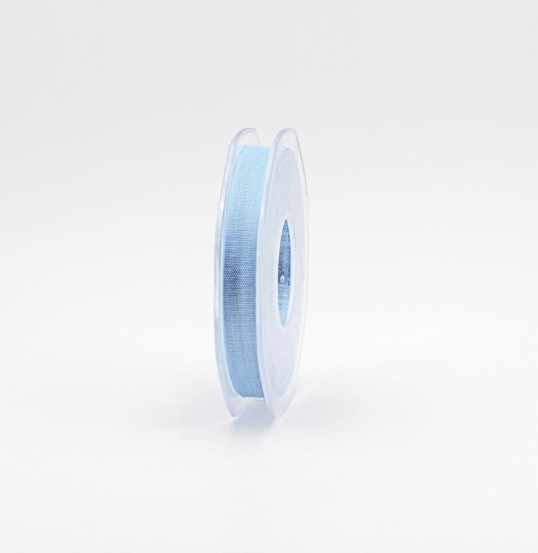 Furlanis nastro garza tipo cotone celeste colore 593 mm.10 Mt. 25