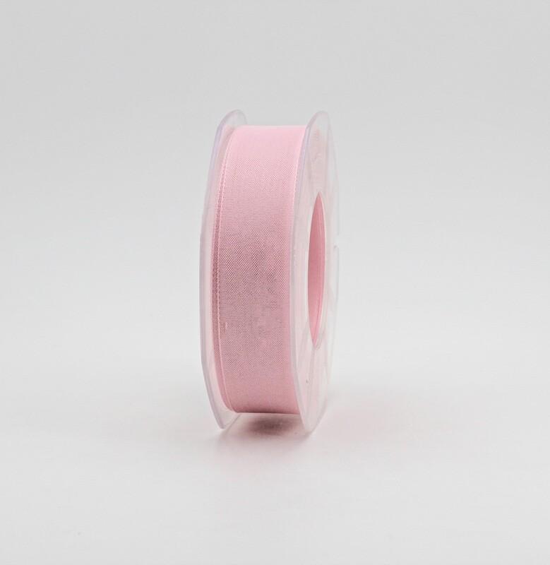 Furlanis nastro garza tipo cotone rosa colore 20 mm.25 Mt. 25