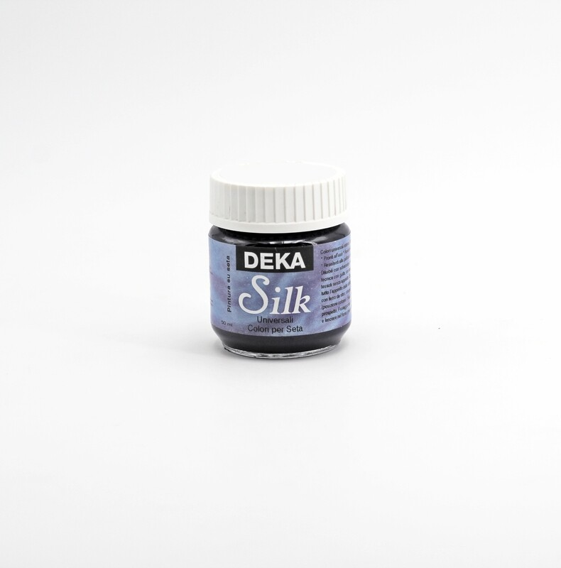 Colore blu oltremare liquido per dipingere la seta 50 ml. Pz.1