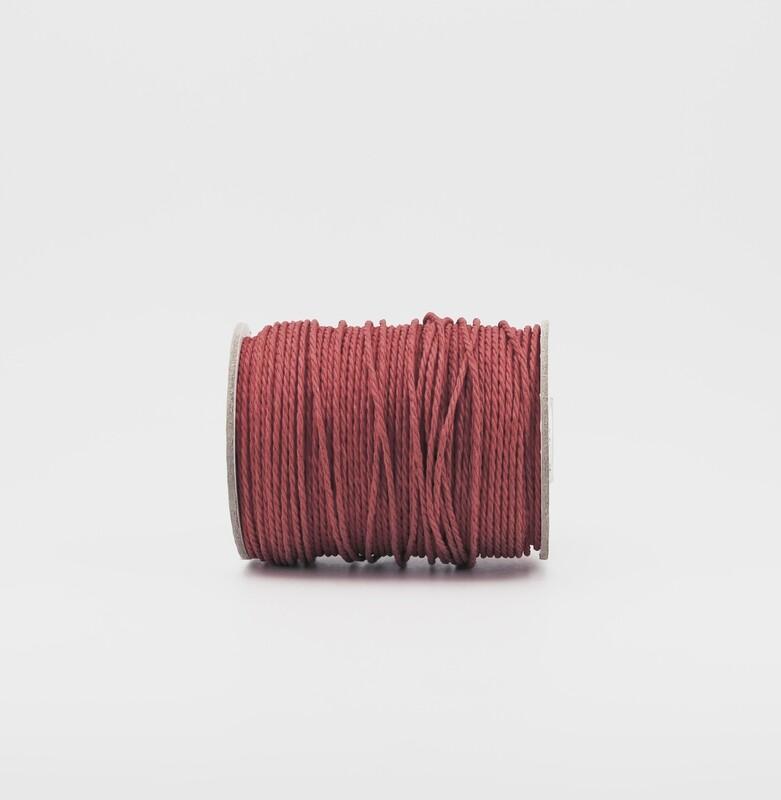 Cordoncino rosso mm.3 Mt.100