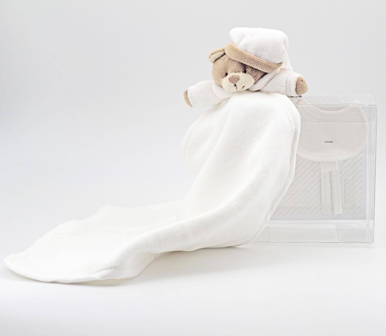 Copertina orsetto bianco Pz. 1