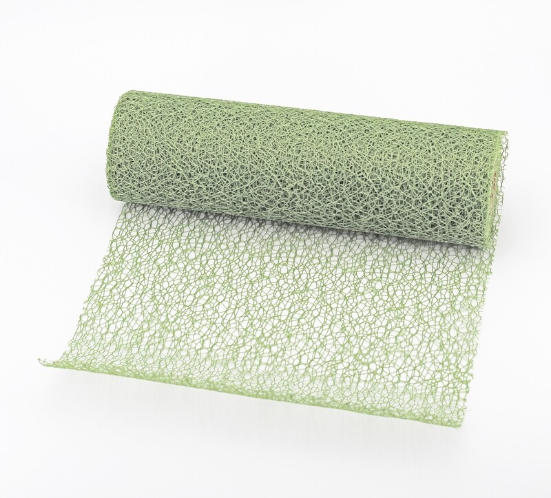 Nastro rete decorativa verde colore 548 mm. 250 Mt. 10